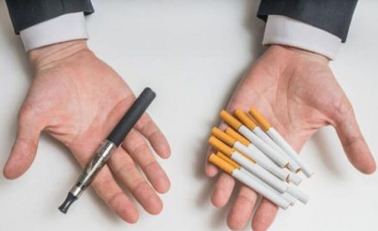 บุหรี่มวน หรือบุหรี่ไฟฟ้า